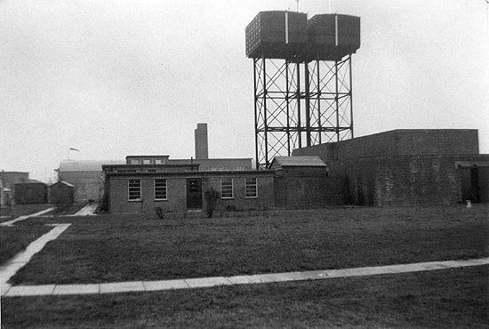 Raf Oakington Airfield Control Tower